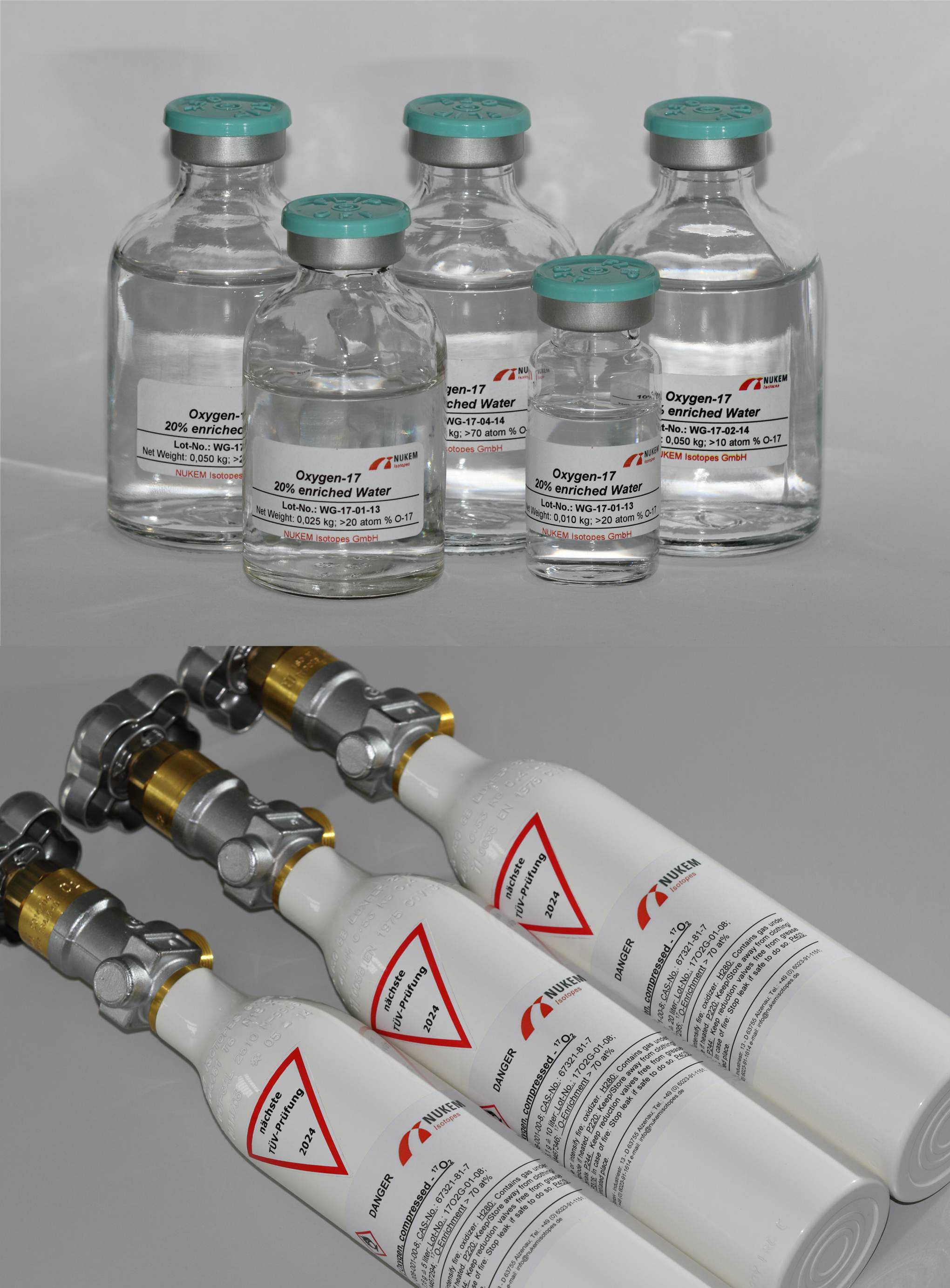 Oxygen-17 Product